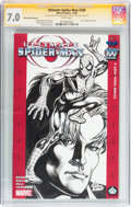 Modern Age (1980-Present):Superhero, Ultimate Spider-Man #100 Hero Initiative Alan Weiss Edition(Marvel, 2006) CGC FN/VF 7.0 White pages....