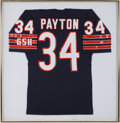 Football Collectibles:Uniforms, 1990's Walter Payton Signed Chicago Bears Jersey. ...
