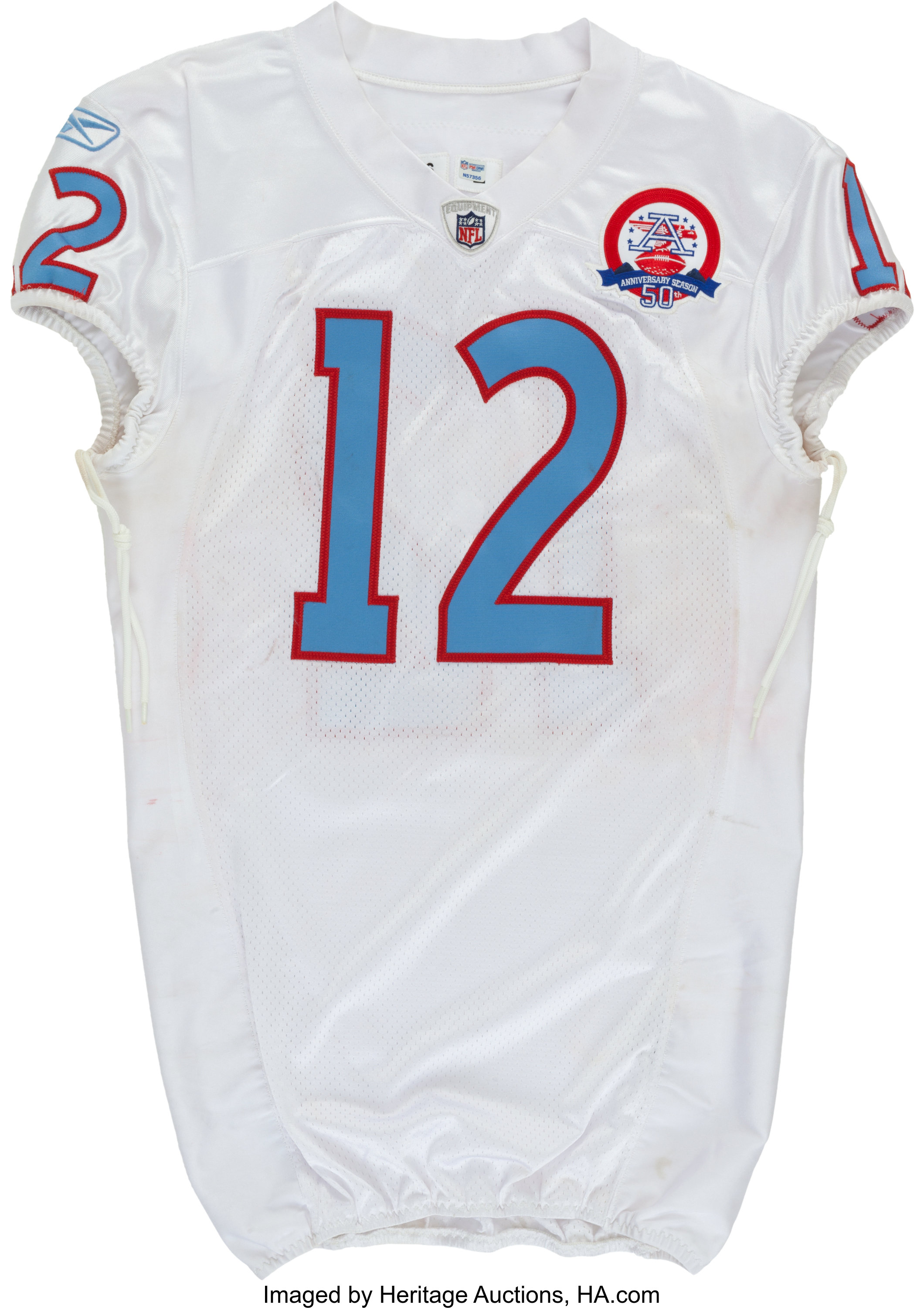 the latest 95cd8 9b553 2009 Justin Gage Game Worn, Unwashed Tennessee Titans Jersey ...