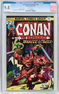 Bronze Age (1970-1979):Adventure, Conan the Barbarian #54 (Marvel, 1975) CGC NM/MT 9.8 White pages....