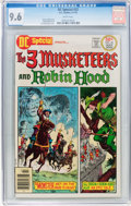 Bronze Age (1970-1979):Miscellaneous, DC Special #22 The 3 Musketeers and Robin Hood (DC, 1976) CGC NM+9.6 White pages....