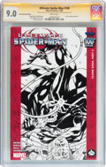 Modern Age (1980-Present):Superhero, Ultimate Spider-Man #100 Hero Initiative David Ross Edition(Marvel, 2006) CGC VF/NM 9.0 White pages....