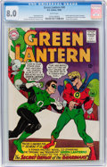 Silver Age (1956-1969):Superhero, Green Lantern #40 (DC, 1965) CGC VF 8.0 White pages....