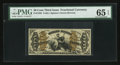 Fractional Currency:Third Issue, Fr. 1358 50¢ Third Issue Justice PMG Gem Uncirculated 65 EPQ.. ...