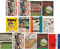 Baseball Collectibles:Publications, 1960's New York Yankees World Series Programs & Yearbooks Lotof 13....