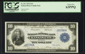 Large Size:Federal Reserve Bank Notes, Fr. 817 $10 1915 Federal Reserve Bank Note PCGS Choice New 63PPQ.. ...