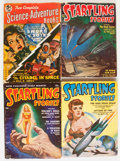 Pulps:Science Fiction, Assorted Science Fiction Pulps Group (Miscellaneous Publishers,1951-57) Condition: Average VG.... (Total: 18 Comic Books)
