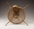 American Indian Art:Baskets, A PIMA OR PAPAGO BURDEN BASKET. . c. 1870. ...