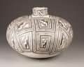 American Indian Art:Pottery, A TULAROSA BLACK-ON-WHITE JAR. c.1100 - 1250. ...