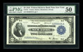 Fr. 751 $2 1918 Federal Reserve Bank Note PMG About Uncirculated 50
