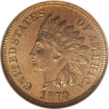 Proof Indian Cents, 1870 1C PR66 Red NGC....