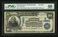 National Bank Notes:Pennsylvania, Punxsutawney, PA - $10 1902 Date Back Fr. 619 The County NB Ch. #(E)9863. ...