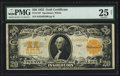 Large Size:Gold Certificates, Fr. 1187 $20 1922 Gold Certificate PMG Very Fine 25 Net.. ...