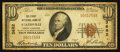 National Bank Notes:North Carolina, Statesville, NC - $10 1929 Ty. 1 The First NB Ch. # 3682. ...