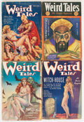 Pulps:Horror, Weird Tales Group (Popular, 1931-41) Condition: Average FR....