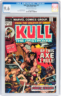 Kull the Destroyer #11 (Marvel, 1973) CGC NM+ 9.6 Off-white to white pages