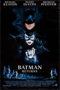 "Movie Posters:Action, Batman Returns and Other Lot (Warner Brothers, 1992). One Sheets(2) (27"" X 40""). Action.. ... (Total: 2 Items)"