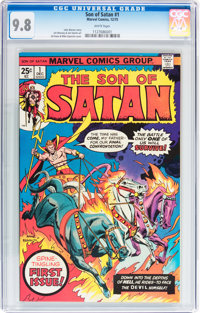 Son of Satan #1 (Marvel, 1975) Condition: NM/MT 9.8 White pages