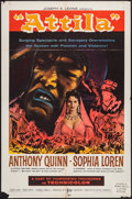 """Movie Posters:Adventure, Attila (Lux Film, 1958). One Sheet (27"""" X 41"""") and Lobby Cards (9)(11"""" X 14""""). Adventure.. ... (Total: 10 Items)"""