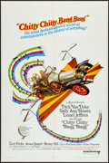 "Movie Posters:Fantasy, Chitty Chitty Bang Bang (United Artists, 1969). One Sheet (27"" X 41"") and Mini Lobby Cards (4) (8"" X 10""). Fantasy.. ... (Total: 5 Items)"