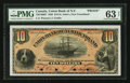 Canadian Currency: , Saint John's, NF- Union Bank of Newfoundland $10 May 1, 1889 Ch. #750-16-06P Proof. ...
