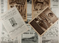 Books:Periodicals, [British Jubilee]. The Illustrated London News. Group ofadvertisements from the Coronation and the Silver Jubilee i...