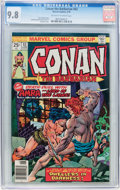 Bronze Age (1970-1979):Adventure, Conan the Barbarian #63 (Marvel, 1976) CGC NM/MT 9.8 Off-white to white pages....