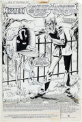 Original Comic Art:Splash Pages, Ron Randall House of Mystery #320 Cain Splash Page 1Original Art (DC, 1983). ...
