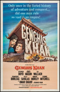"Movie Posters:Adventure, Genghis Khan (Columbia, 1965). One Sheet (27"" X 41"") & LobbyCards (7) (11"" 14""). Adventure.. ... (Total: 8 Items)"