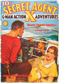 Pulps:Hero, Secret Agent X - February '37 (Ace, 1937) Condition: FN-....