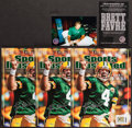 """Football Collectibles:Publications, Brett Favre Signed """"Sports Illustrated"""" Special Tribute Edition Magazines Lot of 3. ..."""