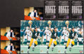 """Football Collectibles:Photos, Brett Favre Signed Photographs Lot of 3 - SB XXXI """"The Kid"""" Pose""""...."""
