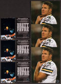Football Collectibles:Photos, Brett Favre Signed Photographs Lot of 3....