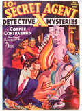 Pulps:Hero, Secret Agent X - December '38 (Ace, 1937) Condition: FN-....