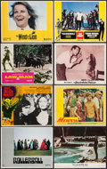"Movie Posters:James Bond, Thunderball/From Russia with Love Combo & Others Lot (UnitedArtists, R-1968). Lobby Cards (76) (11"" X 14""). James Bond.. ...(Total: 76 Items)"