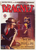 Pulps:Detective, Dragnet - December '29 (Magazine Publishers Inc., 1929) Condition:VG-....