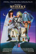 """Movie Posters:Comedy, Beetlejuice (Warner Brothers, 1988). One Sheet (27"""" X 41"""") SS. Comedy.. ..."""