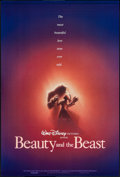 "Movie Posters:Animation, Beauty and the Beast (Buena Vista, 1990). One Sheet (27"" X 41"") DSAdvance. Animation.. ..."