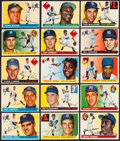 Baseball Cards:Sets, 1955 Topps Baseball Near Set (176/206) With Over 30 High Numbers. ...