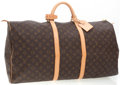 Luxury Accessories:Bags, Louis Vuitton Classic Monogram Canvas Keepall 60 Weekender Bag. ...