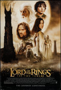 "Movie Posters:Fantasy, The Lord of the Rings: The Two Towers (New Line, 2002). One Sheet(27"" X 40"") DS Style A. Fantasy.. ..."