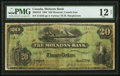 Canadian Currency: , Montreal, PQ- The Molsons Bank $20 Jan. 2, 1904 Ch. # 490-26-10....