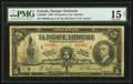 Canadian Currency: , Quebec City, PQ- La Banque Nationale $5 Nov. 2, 1922 Ch. #510-22-02. ...