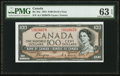 Canadian Currency: , BC-35a $100 1954 Devil's Face. ...