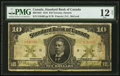 Canadian Currency: , Toronto, ON- The Standard Bank of Canada $10 Jan. 2, 1919 Ch. #695-18-22. ...