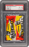 Baseball Cards:Unopened Packs/Display Boxes, 1959 Topps Baseball 1-Cent Wax Pack PSA NM-MT 8....