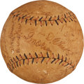 Autographs:Baseballs, Early 1920's Brooklyn Dodgers Team Signed Baseball....