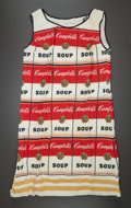Fine Art - Sculpture, American:Contemporary (1950 to present), ANDY WARHOL (American, 1928-1987). The Souper Dress, 1968.Cellulose and cotton. 36 x 18-1/2 inches (91.4 x 47.0 cm). ...