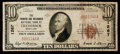 National Bank Notes:Maryland, Frederick, MD - $10 1929 Ty. 1 The Farmers & Mechanics NB Ch. #1267. ...