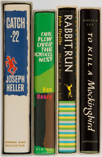 [Literature]. Group of Four. Facsimile Editions. First Edition Library. Includes titles To Kill a Mockingbird, Rab